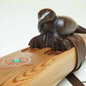 Eagle Totem - Custom Carved Native American Flute Totem - Southern Cross Flutes