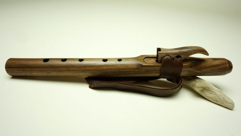 Black Walnut - Pocket Forest Flute - Various Keys