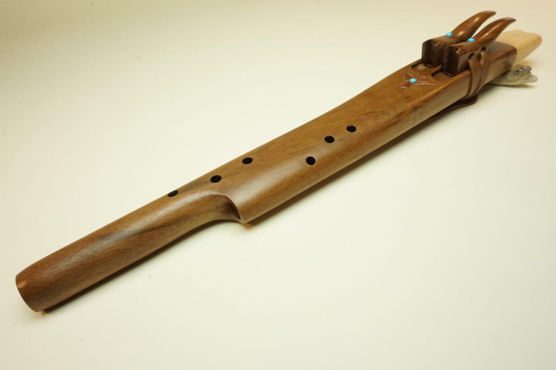 Black Walnut - Mayan Temple Flute - Various Keys