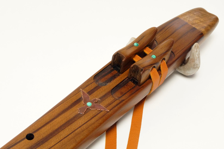 Western Red Cedar - Drone Flute - Various Keys
