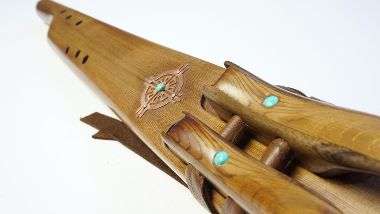 Western Red Cedar - Mayan Temple Flute - Various Keys