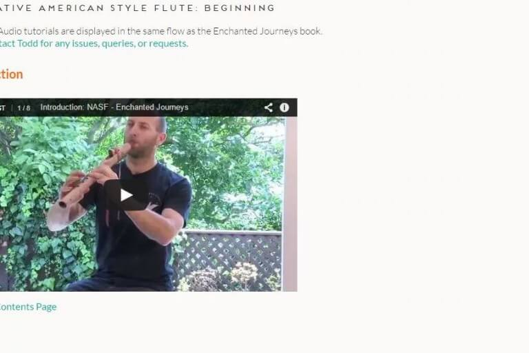 Learn to Play the Native American Style Flute