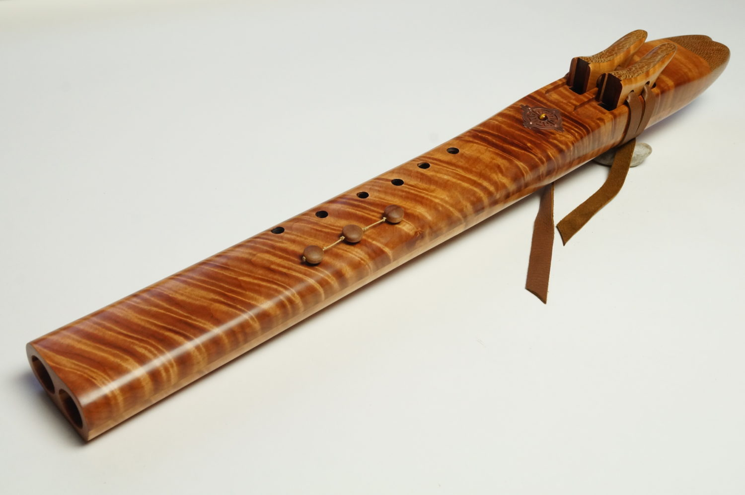 Red Beech - Temple Drone Flute - Various Keys