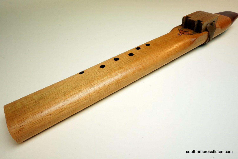 Spanish Cedar - Drone Flute - Key of F#